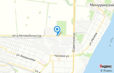 Местоположение на карте пункта техосмотра по адресу Новосибирская обл, Новосибирский р-н, с/с Мичуринский, ул Автомобилистов проезд, д 1