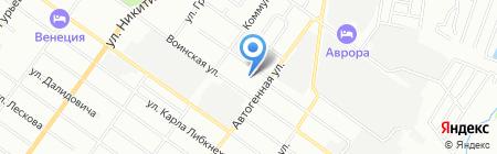 Детский сад №150 на карте Новосибирска