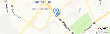 АВГУСТ на карте Новосибирска