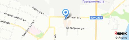 Спас ПК на карте Новосибирска