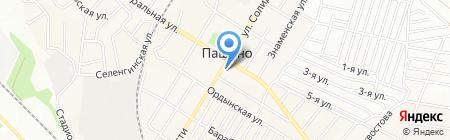 Перекресток на карте Новосибирска
