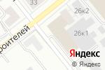 Схема проезда до компании Роспожоборудование в Новосибирске