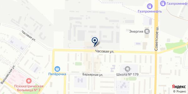 Фотоателье на карте Новосибирске