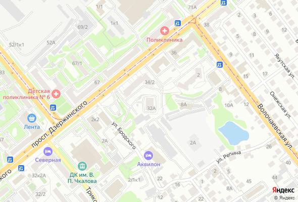 жилой комплекс по пр. Дзержинского, 32а