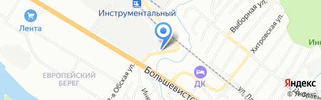 Трейдприбор на карте Новосибирска