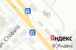 Схема проезда до компании РусАвто в Новосибирске