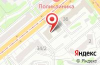 Схема проезда до компании Сибирь-Ньюс в Новосибирске