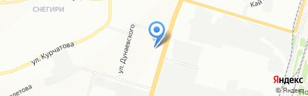 ЛЭЗ на карте Новосибирска