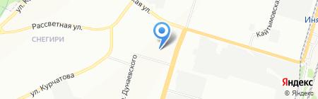 ТБМ-Маркет на карте Новосибирска