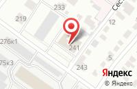 Схема проезда до компании Эльмира в Новосибирске