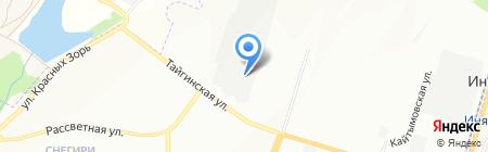 ДСК КПД-Газстрой на карте Новосибирска
