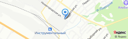 Банкомат Райффайзенбанк на карте Новосибирска