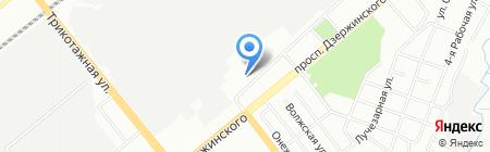 Ferroli на карте Новосибирска