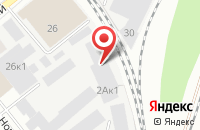 Схема проезда до компании ААП Премиум в Новосибирске