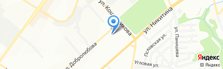 НСК-Строй на карте Новосибирска
