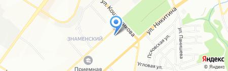 Мебельная Мануфактура на карте Новосибирска