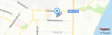 Детский сад №364 на карте Новосибирска