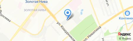 АВТОЗУБ на карте Новосибирска