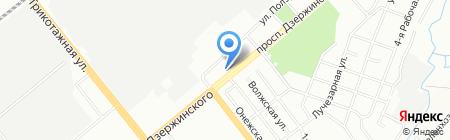 Эдельвейс на карте Новосибирска