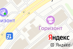 Схема проезда до компании ГруппаЛегион в Новосибирске
