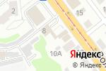 Схема проезда до компании ТАУФИК в Новосибирске