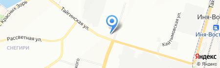 ДОБРОДЕЛ на карте Новосибирска