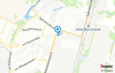 Местоположение на карте пункта техосмотра по адресу г Новосибирск, ул Богдана Хмельницкого, д 124