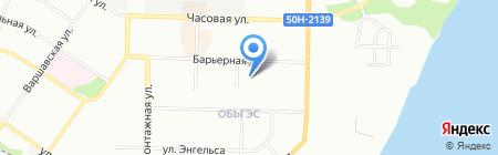 Детский сад №506 на карте Новосибирска