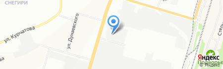 Реверс на карте Новосибирска