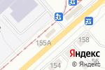 Схема проезда до компании ATM в Новосибирске