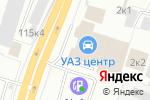 Схема проезда до компании Форд центр Сибирь в Новосибирске