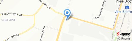 Клондайк на карте Новосибирска