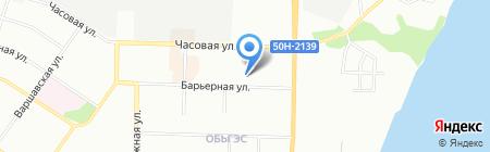 Моя Школа на карте Новосибирска