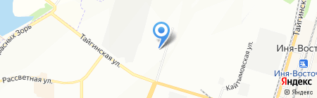 Travelerscoffeestore.ru на карте Новосибирска