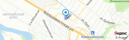 Детский сад №498 на карте Новосибирска