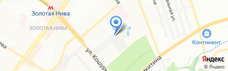 ГАЗОБЕТОНСТРОЙ-Н на карте Новосибирска
