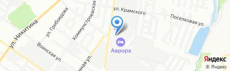 ВОДТЕРМОРЕСУРС на карте Новосибирска