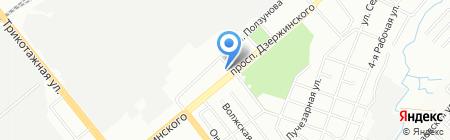 ЭкоСтиль на карте Новосибирска