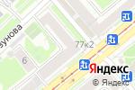 Схема проезда до компании Магазин хозтоваров на проспекте Дзержинского в Новосибирске