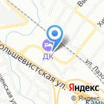 AutoRoom на карте Новосибирска
