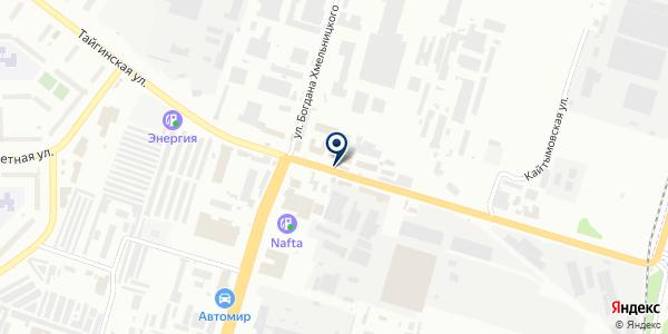 СибЭкос на карте Новосибирске