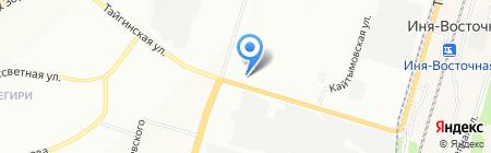 Элит на карте Новосибирска