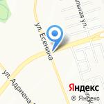 Киоск по продаже цветов на карте Новосибирска