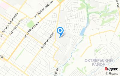Местоположение на карте пункта техосмотра по адресу г Новосибирск, проезд 2-й Воинский, д 42/2