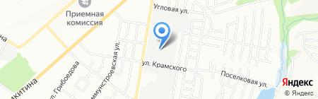 ОКНА ТЕКС на карте Новосибирска