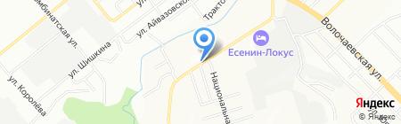 Автошик на карте Новосибирска