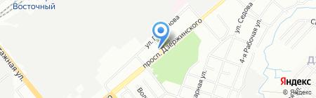Лира на карте Новосибирска
