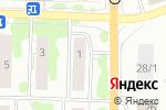Схема проезда до компании Сад и огород в Новосибирске