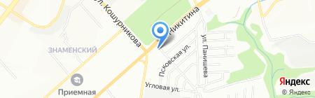 Neste Oil на карте Новосибирска