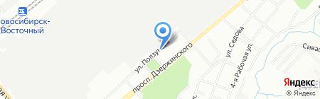 АББАТ на карте Новосибирска